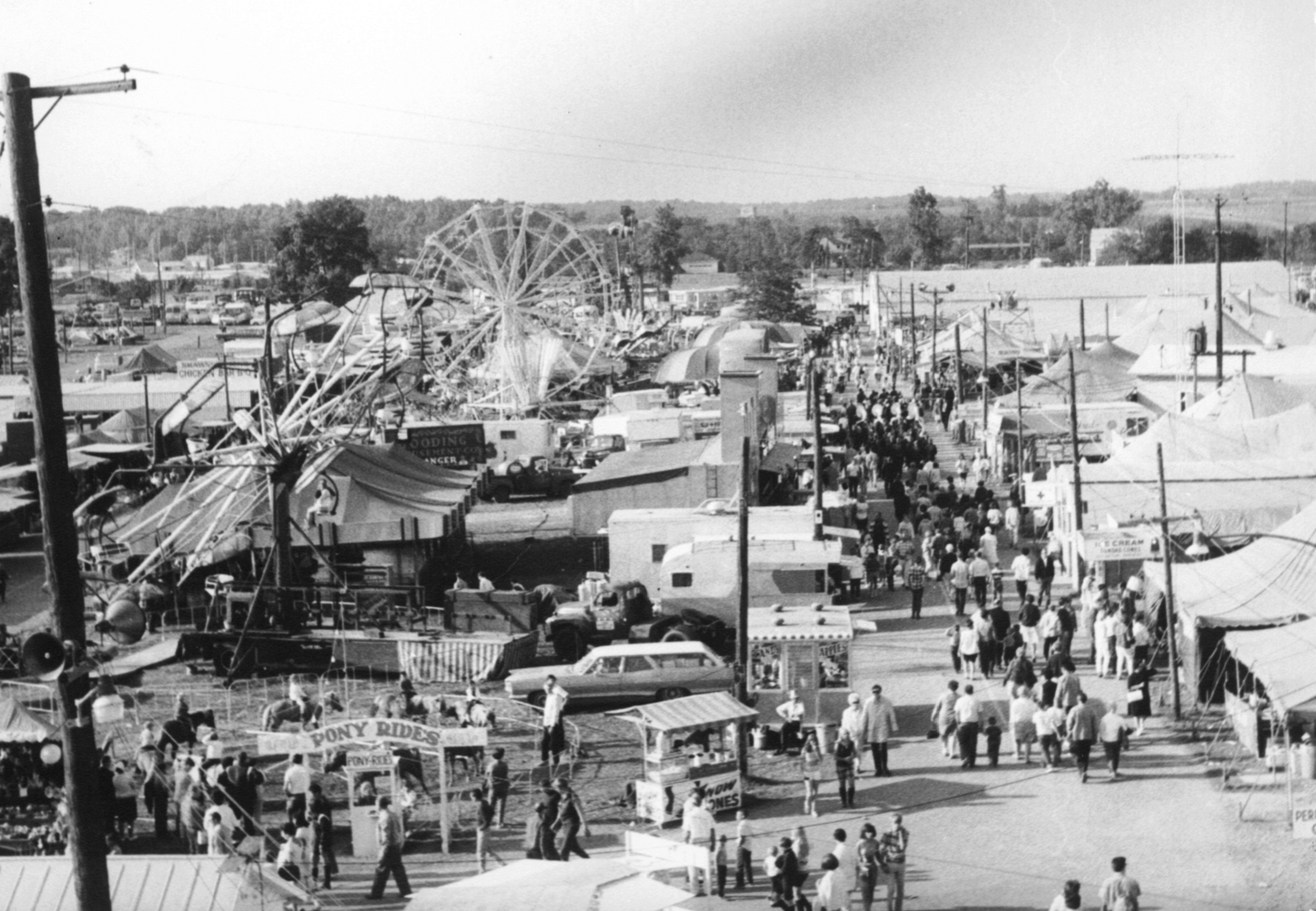 Today the Allen County Fair is one of the top fairs in the state, with attendance figures of well over 200,000 visitors annually.