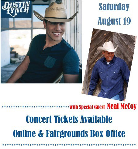 Dustin Lynch to Headline 2017 Allen County Fair concert with Opening Act Neal McCoy